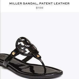 Tory Burch Miller Sandal (8.5- fits like 8)